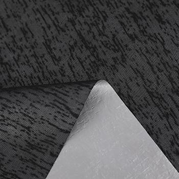 特殊糸ニット+ PU銀色膜